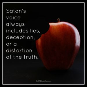 Father of lies will never express truth.