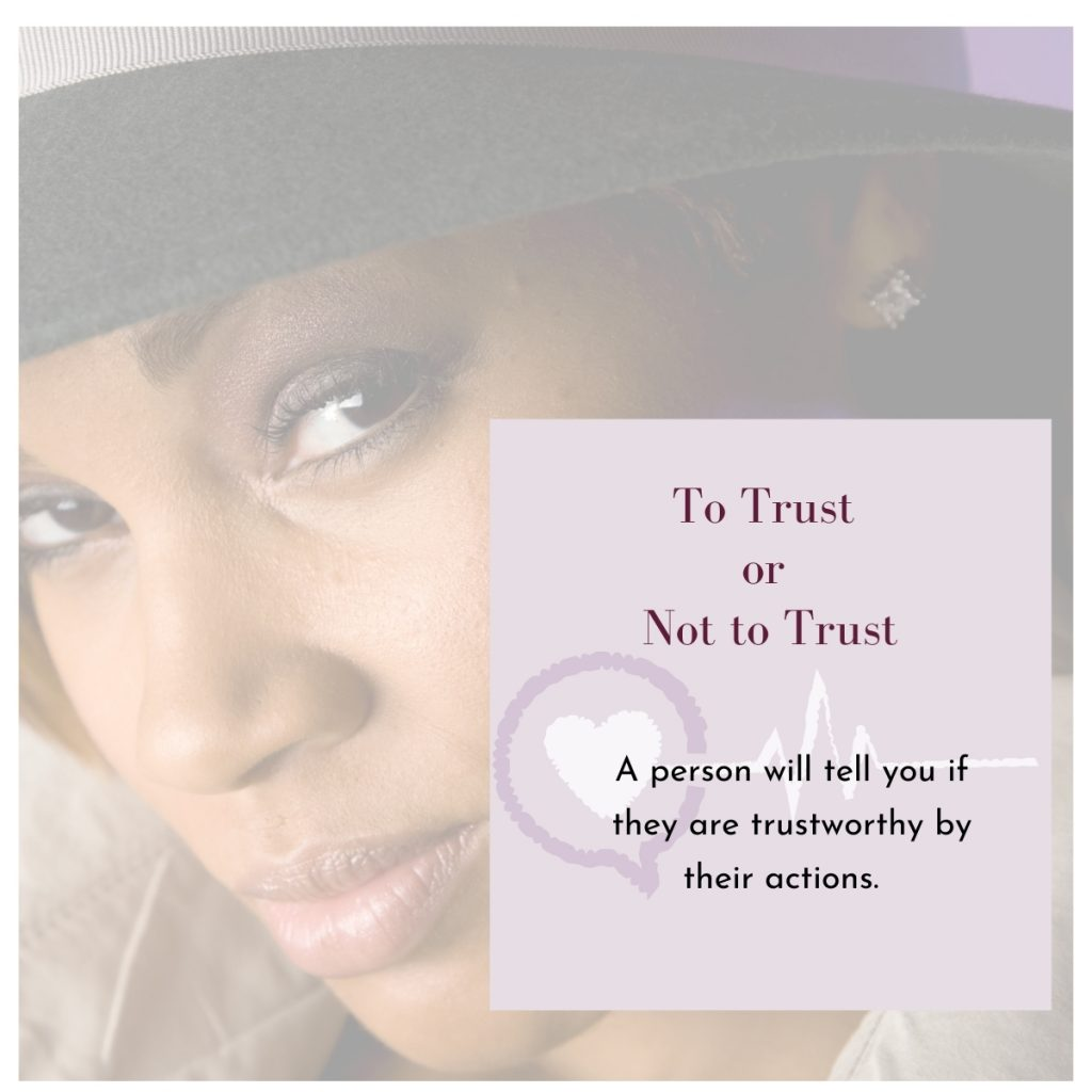 How Can I Tell Who To Trust